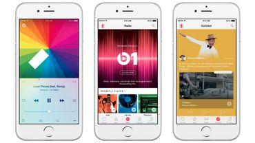 Apple Music totalise 15 millions d'abonnés, deux fois moins que Spotify