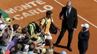 Rafael Nadal au tournoi de Monte-Carlo