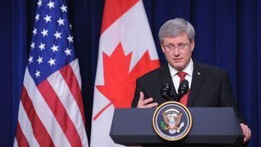 Le premier ministre canadien, Stephen Harper