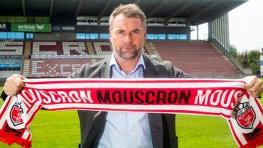 Bernd Hollerbach, nouvel entraîneur de Mouscron après Bernd Storck : l'Excel mise sur la lignée allemande.