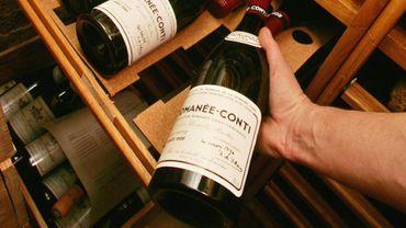 Une bouteille de Romanée-Conti