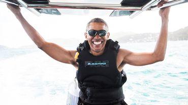 Barack Obama a séjourné sur l'île du milliardaire Richard Branson