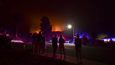 Incendie à Arcadia, en Californie, ce 13 septembre 2020