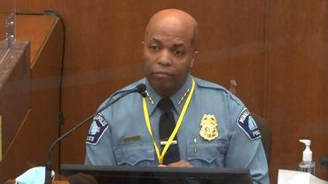 Medaria Arradondo, le chef de la police de Minneapolis.
