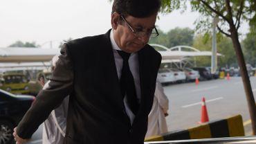 Saiful Malook a fui pour les Pays-Bas après une éruption de violences à la suite de la décision par la Cour suprême pakistanaise d'acquitter Asia Bibi.