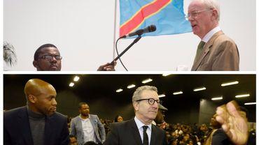 Armand De Decker lors d'une visite d'Etat au Congo et Yvan Mayeur aux obsèques de l'opposant congolais Etienne Tshisekedi