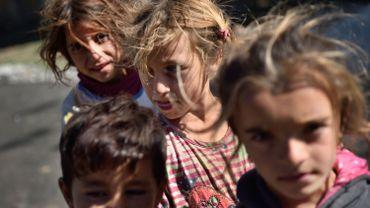 Les Roms, principale minorité ethnique en Italie et en Europe, comme ici en Roumanie
