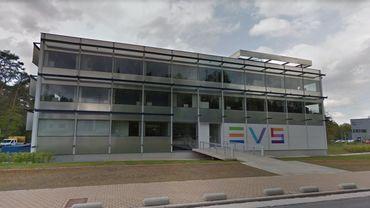 Les locaux d'EVS Belgium, à Seraing.