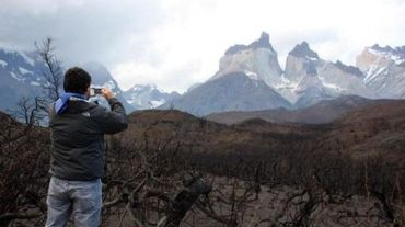 """Philippe Boiry """"rêgnait"""" sur les paysages austères de la Patagonie"""