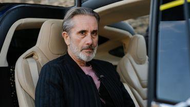 Angelo Bison dans le taxi de Jérôme Colin