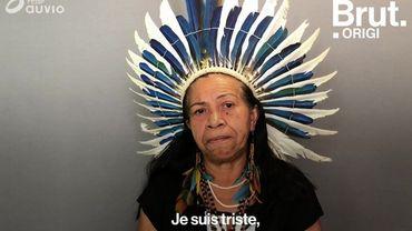 Déforestation: l'appel à l'aide d'une cheffe indigène d'Amazonie