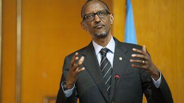 Paul Kagame, homme fort du Rwanda depuis le génocide de 1994
