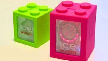 Les emballages des montres Ice Watch jugées trop ressemblantes aux fameux blocs Lego