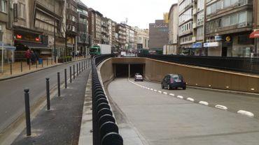"""La sortie du parking Rive Gauche ici plutôt """"calme et tranquille"""""""