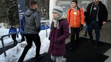 """A Davos, Greta Thunberg appelle les patrons et responsables politiques à éviter """"l'apocalypse climatique"""""""