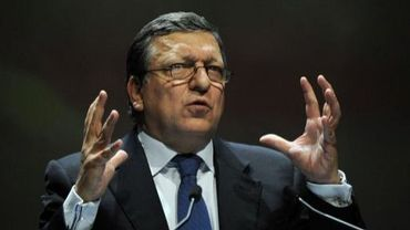 José Manuel Barroso le 8 décembre 2011 à Marseille