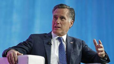 Mitt Romney, ancien candidat républicain à l'élection présidentielle de 2012, ici le 19 janvier 2018 à Salt Lake City, dans l'Utah