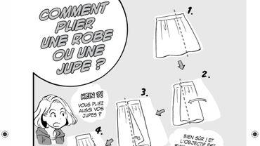 """""""La Magie du rangement illustrée"""" de Marie Kondo, dessins par Yuko Uramoto"""