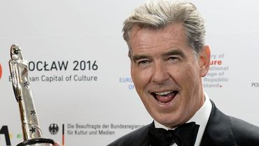 Pierce Brosnan aux European Film Awards le 11 décembre 2016