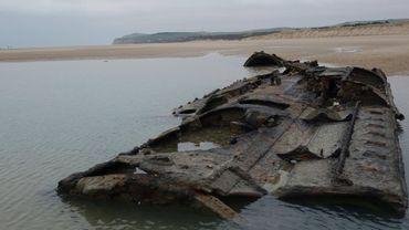Les restes du sous-marin allemand près du Cap Blanc-Nez