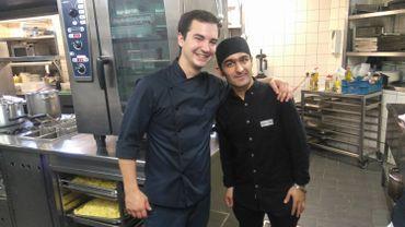 Mélange culinaire belgo-iranien pour la journée mondiale des réfugiés