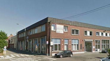 La maison pour Associations, route de Mons, à Marchienne-au-Pont (Charleroi)