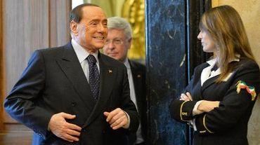 Silvio Berlusconi le 19 février 2014 à Rome