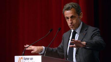 L'ancien président français Nicolas Sarkozy était l'invité du VOKA ce mercredi