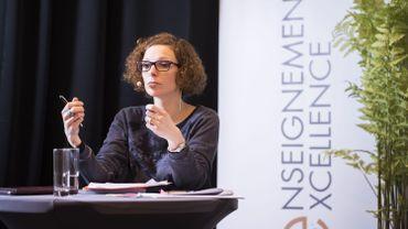 Marie-Martine Schyns, ministre de l'Education en Fédération Wallonie-Bruxelles.
