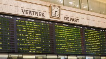 La SNCB appelle à ne pas prendre le train vers la côte