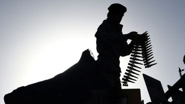 Un soldat afghan à Kaboul le 16 juin 2017