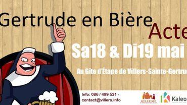 """""""Gertrude en Bière"""" près de Durbuy"""