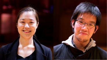 Rencontre avec les finalistes du 23 mai, Yoonji Kim et Atsushi Imada