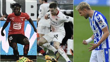 Diables à l'étranger : Premier assist pour Doku, Saelemaekers porte-bonheur du Milan, Januzaj frustré