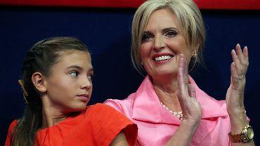 Ann Romney et sa petite fille