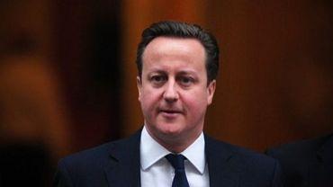 Le Premier ministre britannique David Cameron, le 19 décembre 2012 à Londres