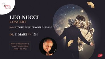 Musiq3 soutient le concert de Leo Nucci à l'Opéra Royal de Wallonie