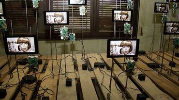 """""""Digital Icons"""", c'est une exposition dans laquelle16 artistes internationaux y (dé) construisent les nouveaux médias technologiques par leur approche poétique, engagée ou participative."""