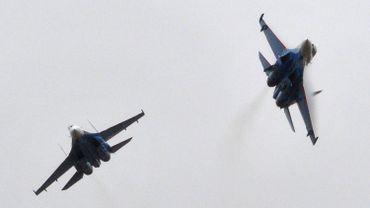 Trois interceptions d'avions russes à l'actif des F-16 belges en Pologne