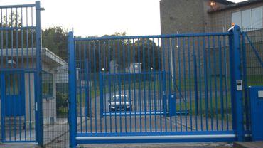 L'entrée de la prison de Jamioulx