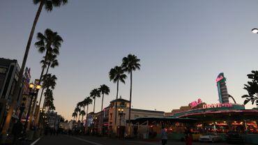 Quand la nuit tombe sur la Floride, le ciel devient poétique