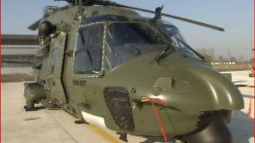 Beauvechain : le NH 90, mastodonte des airs.