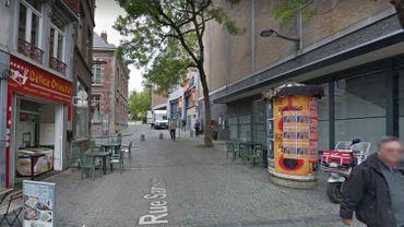 La rue samson à Mons a été évacuée à cause d'une fuite de gaz