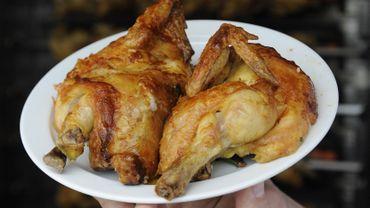 Trop de bactéries résistantes aux antibiotiques dans la viande de poulet