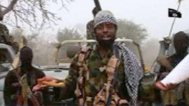 Capture d'écran d'une vidéeo du 29 décembre 2016 de Abubakar Shekau, le chef historique du groupe jihadiste nigérian Boko Haram