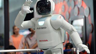 Le robot Asimo de Honda, le 3 juillet 2013 à Tokyo