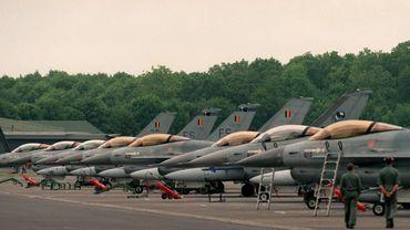 Feu vert du gouvernement belge à la mission des F-16 contre l'EI au départ de la Jordanie