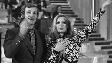 "Jean Paul Belmondo et Raffaella Carrà, ""Canzonissima"", 1971"