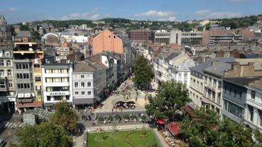 Vue de Liège
