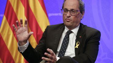 Le président catalan propose Poutine, Trump ou Xi Jinping comme médiateurs